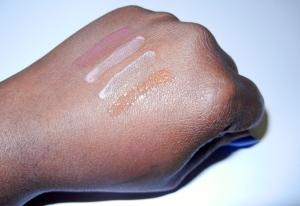 Divergent cosmetics lipgloss swatches
