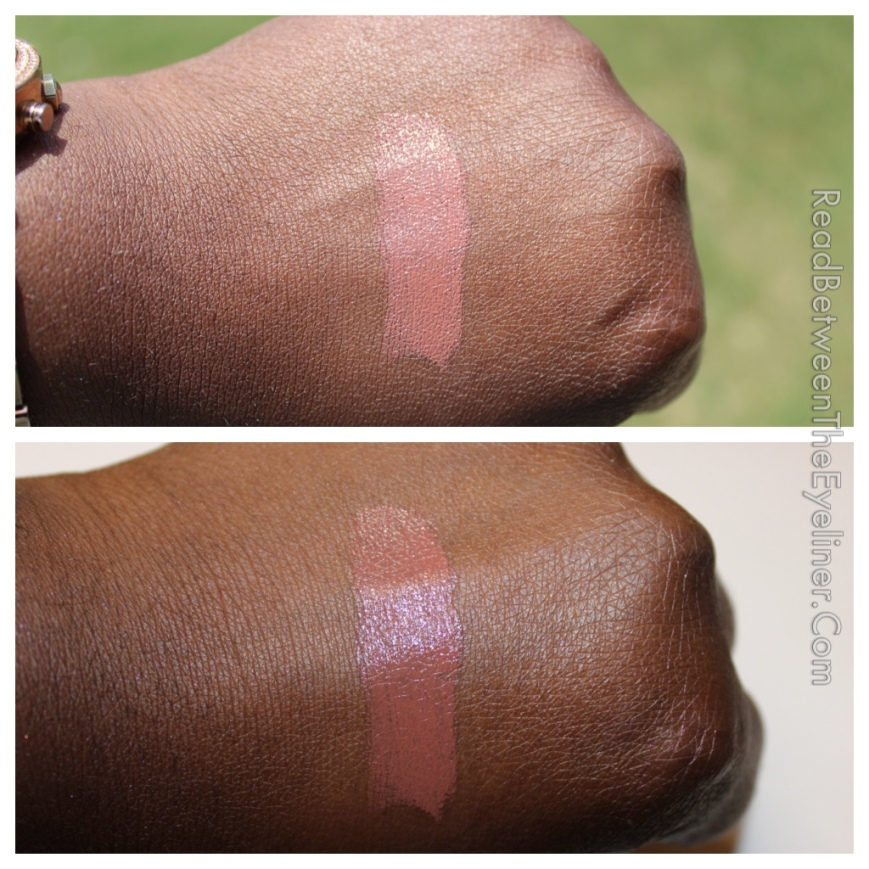 Bite butter cream lipstick on dark skin marzipan nw45 woc nc50