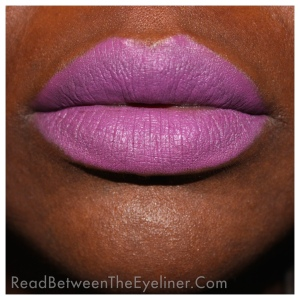 MAC men love mystery on dark skin nw45 woc swatch