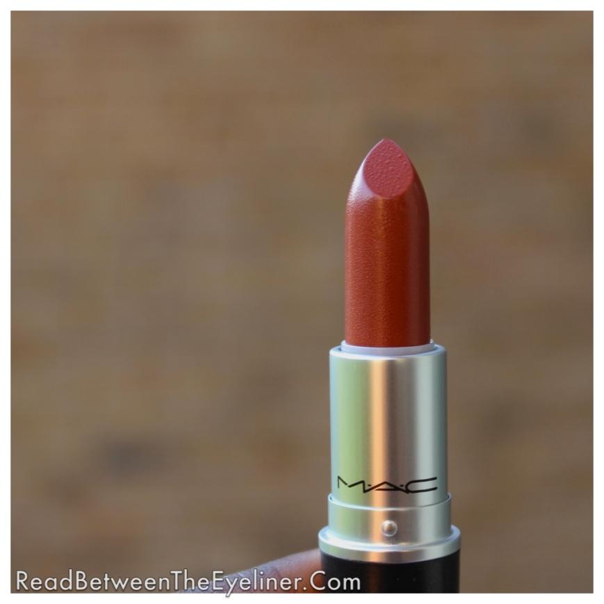 MAC whirl lipstick dark skin