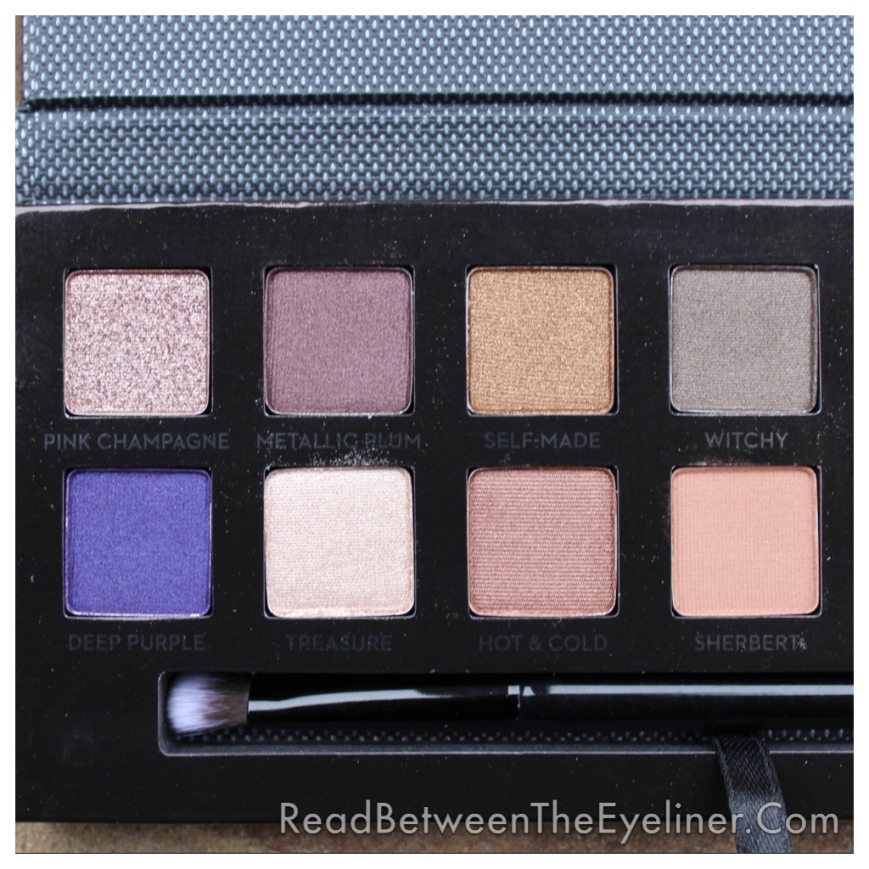 Anastasia Self-Made palette swatch