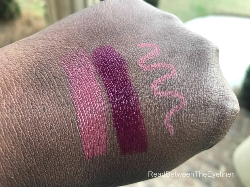 ES lipstick swatch day